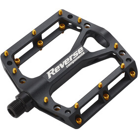 Reverse Black One Pedaler, black/gold